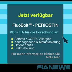 jetzt verfügbar, Fluobolt Periostin