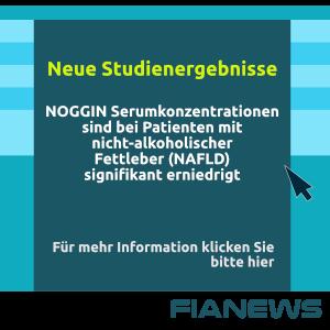 Neue Studienergebnisse! NOGGIN Serumkonzentrationen sind bei Patienten mit nicht-alkoholischer Fettleber (NAFLD) signifikant erniedrig