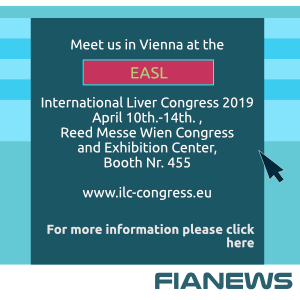 Meet us in Vienna at the EASL International Liver Congress 2019 April 10th.-14th., Reed Messe Wien Congress and Exhibition Center, Booth Nr. 455 www.ilc-congress.eu