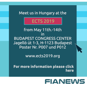 Meet us at the ECTS 2019, May 11th.-14th BUDAPEST CONGRESS CENTER Jagelló út 1-3, H-1123 Budapest Poster Nr. P007 und P012 www.ects2019.org