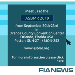 Meet us at the ASBMR 2019, September 20th-23rd Orange County Convention Center Orlando, Florida USA Posters SUN-271 / MON-252